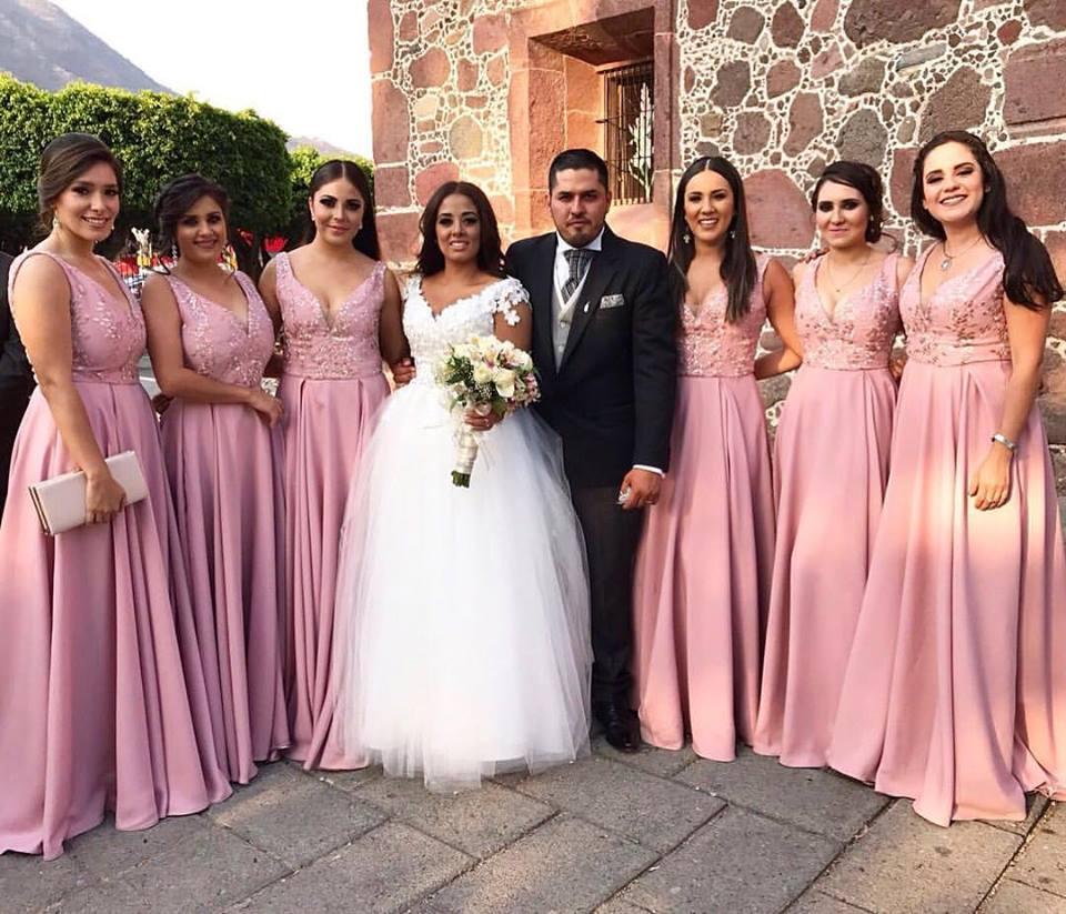 Ungewöhnlich Vestidos Hermana Novia Ideen - Hochzeit Kleid Stile ...